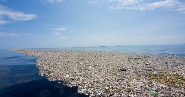 El gigante mar de basura que enfrenta a Honduras y Guatemala - Diario Democracia