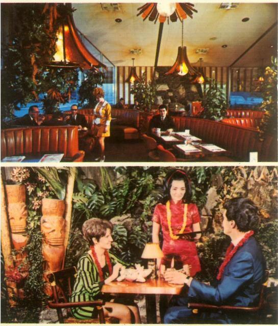 Restaurant Tropical Kitsch Montreal
