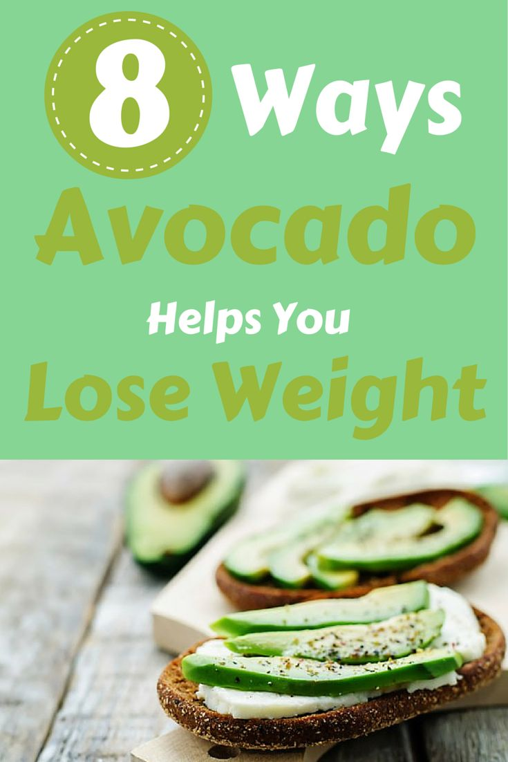 8 reasons why avocado is a perfect weight-loss food