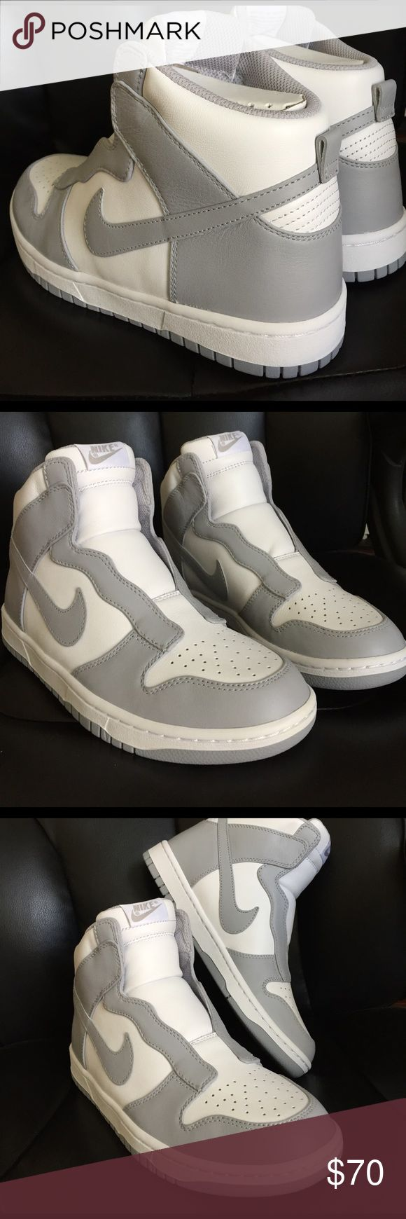 Nike Dunk Sacai Brand new women's Nike Dunk Sacai, size 8.0, gray and white color. MSRP$200. No trades no low balling. Nike Shoes Athletic Shoes