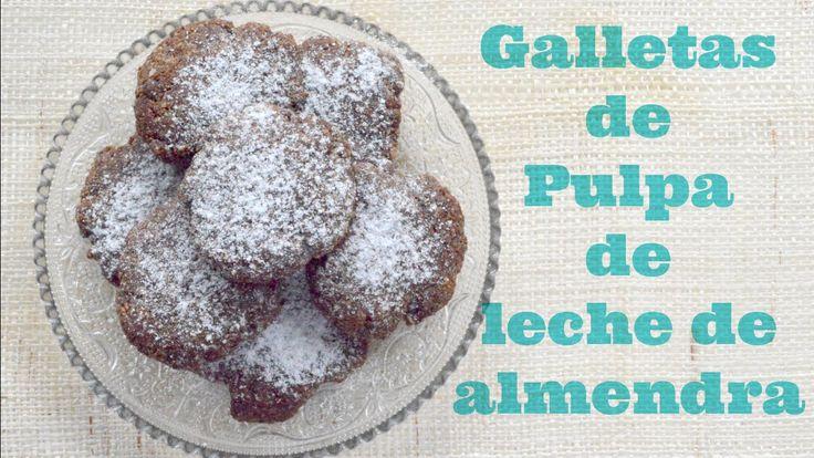 galletas de pulpa de almendras #116 / easy almond pulp cookies …