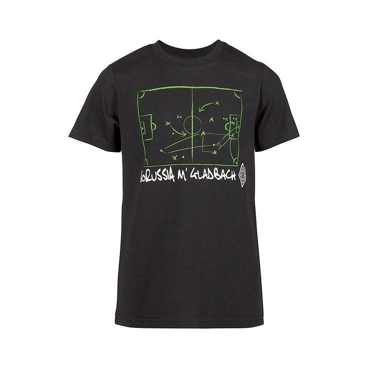 Taktikfüchse aufgepasst: Das Borussia Mönchengladbach Kinder T-Shirt zeigt euch, wie Fußball funktioniert. Die aufgedruckte Taktiktafel, der Borussia M'Gladbach Schriftzug und die BMG Raute machen dieses Shirt zu einem unikaten Fanrtikel....