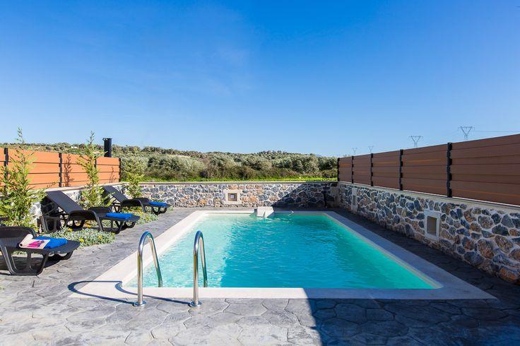 Villa Maria, Pigi village, Rethymno, Crete, Greece sinatsakisvillas.gr #villa #rethymno #crete #greece #village #island #vacation_rental #luxurious_accommodation #private #summer_in_crete #visit_greece #swimmingpool #love_the_view
