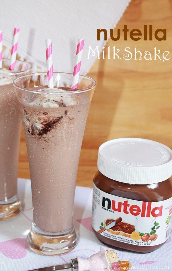 Mis Dulces Joyas: Nutella Milkshake