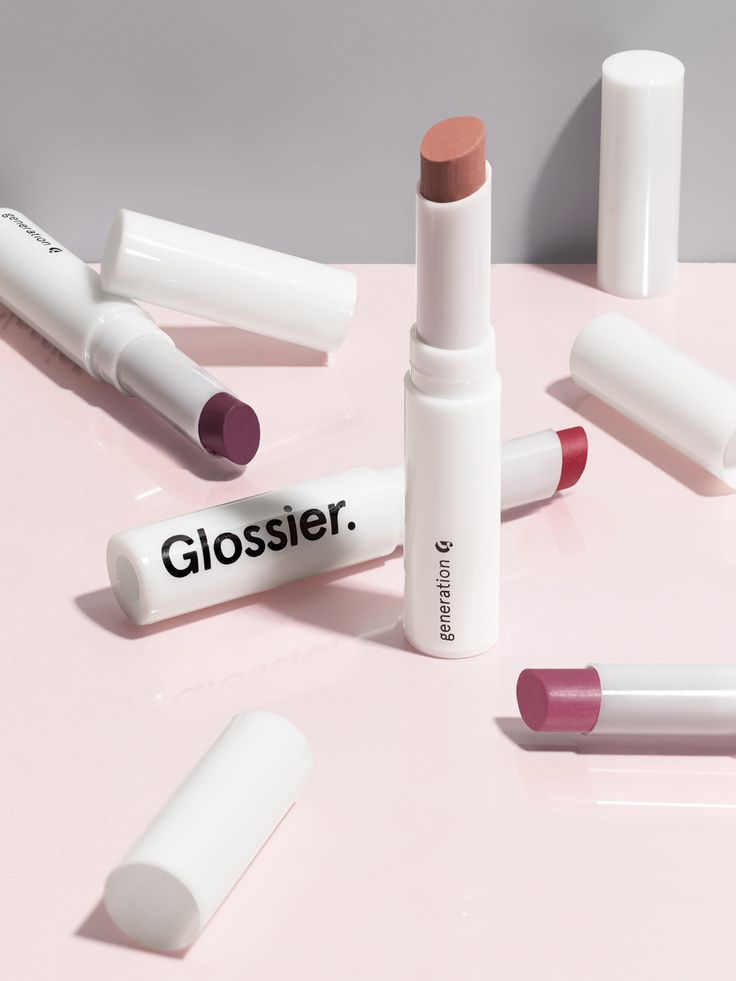This is Glossier Generation G: a new kind of lip color that gives the look and finish of a stain, but that glides on and wears like a tinted balm. A sheer, matte, popsicle-stain flush. Comes in four shades that look amazing on everyone: Cake, Like, Crush, and Jam.
