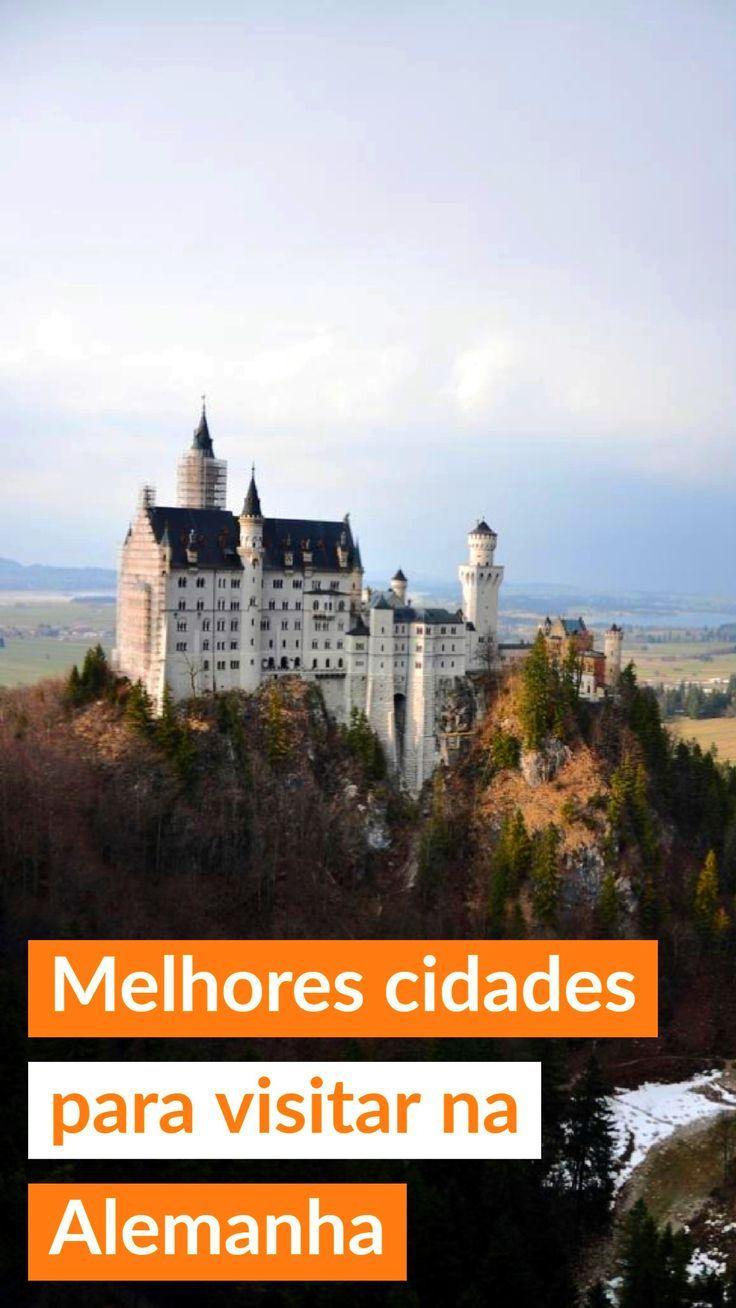 Melhores cidades e pontos turísticos na #Alemanha para sua viagem, incluindo castelos e vilas medievais
