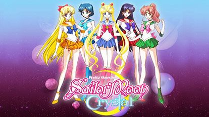 Sailor Moon Crystal Summary New Sailor Moon anime commemorating the 20th anniversary of Sailor Moon.  Usagi Tsukino is a second-year middle school girl who is a little clumsy and a crybaby, but she is full of energy. One day, she meets Luna, a black cat with a crescent moon on her forehead, and she transforms into Sailor Moon, Usagi seems to have a mission to find the Illusionary Silver Crystal with the other guardians and to protect the princess. http://animeshow.tv/Sailor-Moon-Crystal/