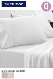 Sheridan Hotel-Weight Sateen Queen Bed Sheet Set Our Price: $399.95