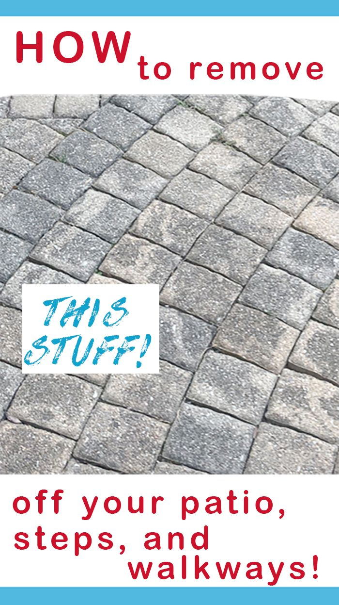 How To Get Rid Of Weeds In Patio Pavers