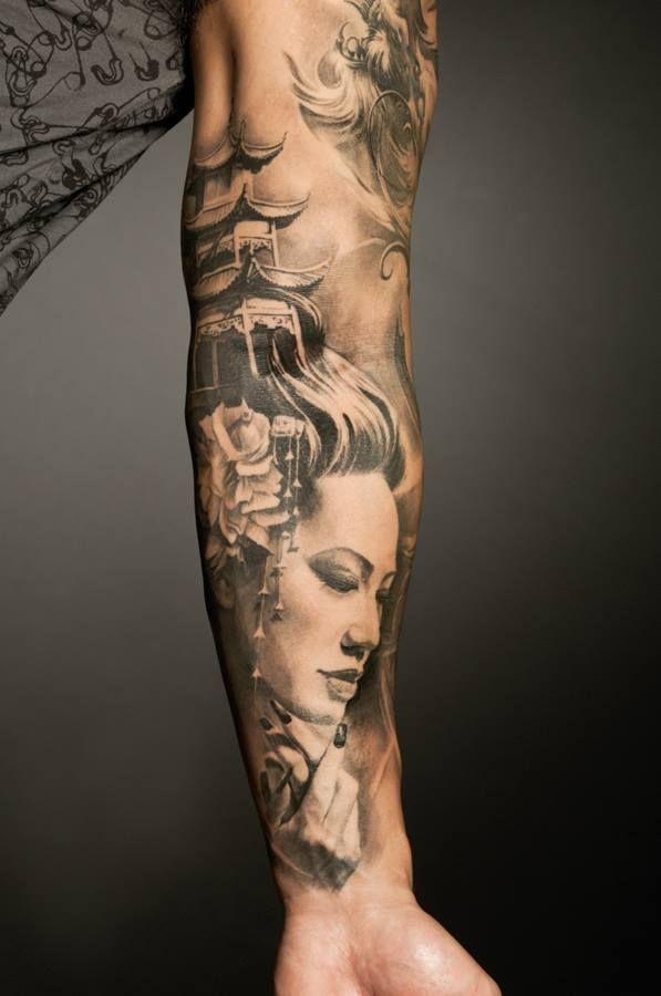 86 melhores imagens de samurai geisha japan tattoo no - Tattoos geishas japonesas ...