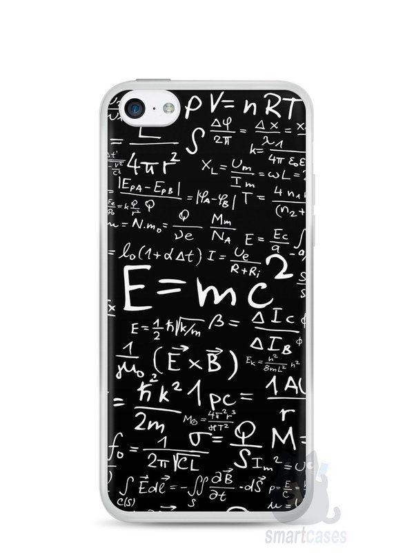 Capa Iphone 5C Teoria da Relatividade Einstein - SmartCases - Acessórios para celulares e tablets :)