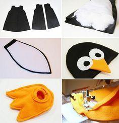 disfraz de pingüino casero para bebé                                                                                                                                                                                 Más