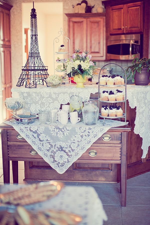 vintage paris theme. so fun!