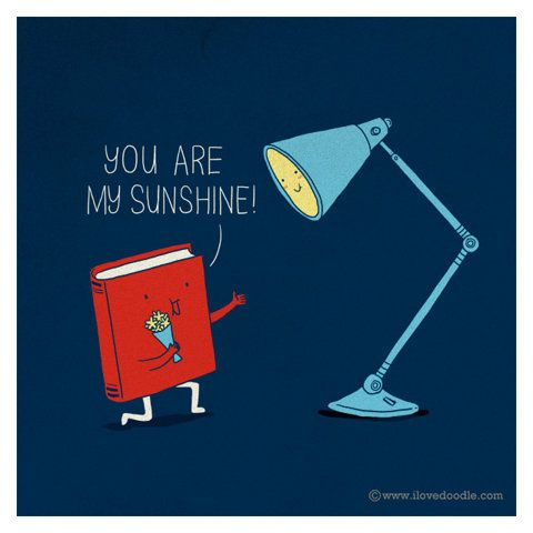 You are my sunshineIllustration, Book Awesome, Sunshine