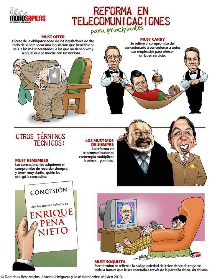La reforma telecon.