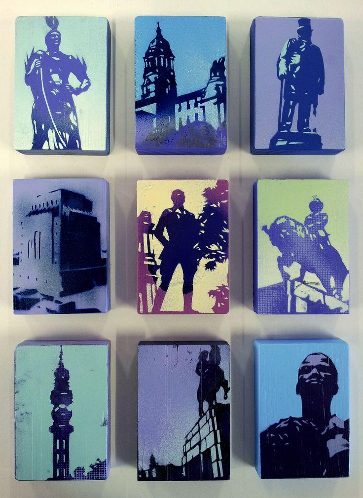 Pretoria Stencil Series - Alex Hamilton