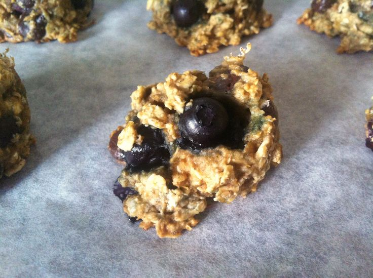 Blueberry Breakfast Cookies - Not for Coco