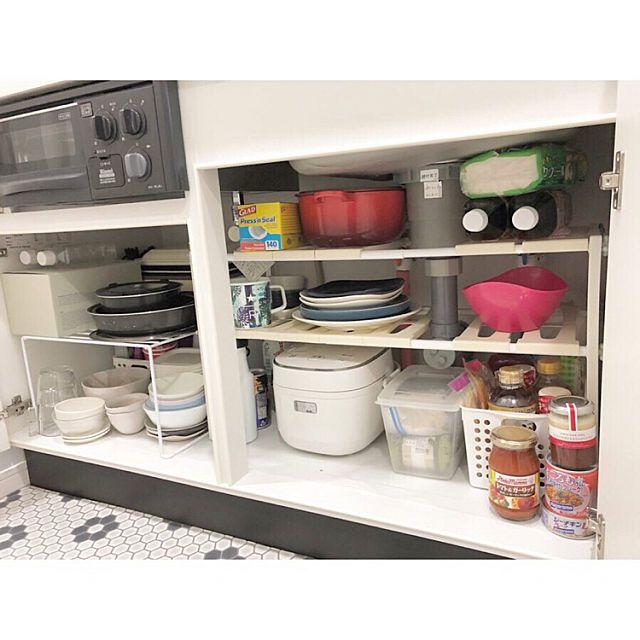 暮らしのモチベーションが上がる 一人暮らしの食器収納 賃貸