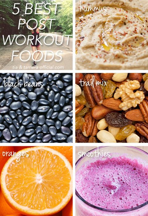 The 5 Best Foods to Eat After a Workout // #fitness