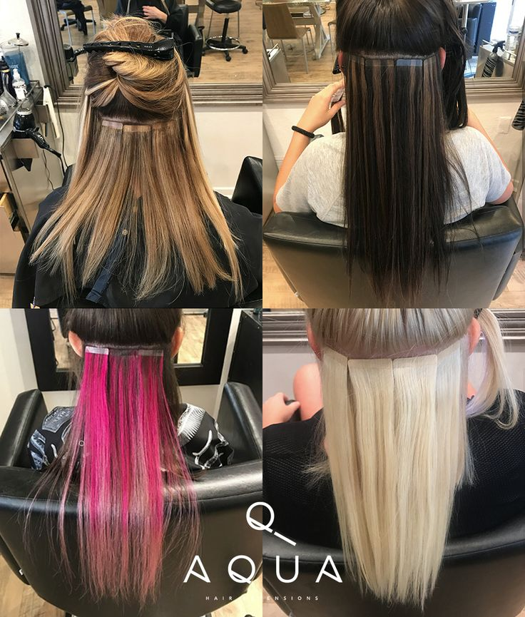 Forget diamonds! Tape-In Extensions are a girls' new bestfriend! Unless diamonds can give you long, mermaid-like hair, damage-free highlights, balayage or bight pops of color and crazy volume... They don't stand a chance!  #AquaHairExtensions .... Get The Hair Of Your Dreams