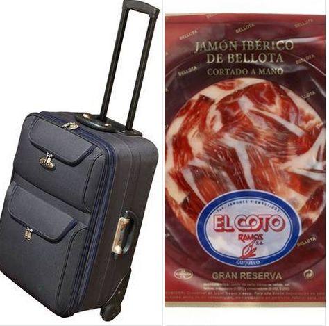 #TypicalSpanish irse al extranjero pero llevar la maleta cargada de productos de nuestra tierra... ¿¿Quién no lo ha hecho??