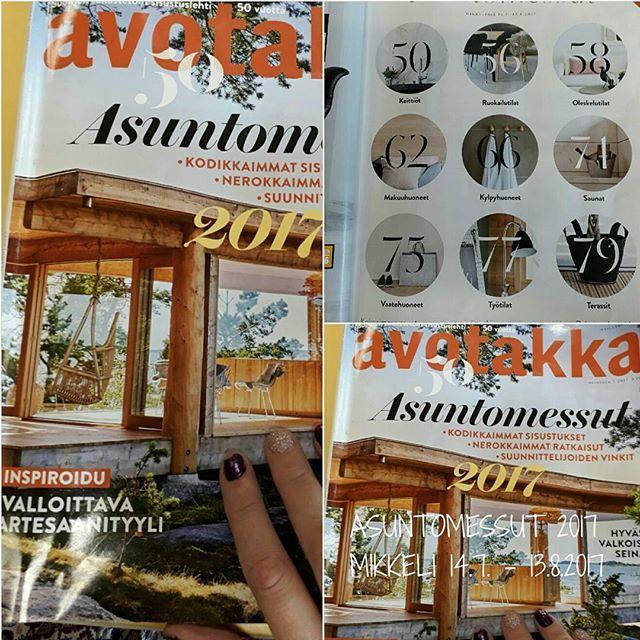 TAPAHTUMAT SUOMI. SUOMEN ASUNTOMESSUT Mikkeli 14.7. - 13.8.2017 KOTI&SISUSTUS... PIHA&Puutarha Uutuuksia, Ideoita ja Vinkkejä Omaan Kotiin ja Sisustus Trendejä. SEURAAN, Tykkään ja SUOSITTELEN Lämpimästi. TERKUT Lomalta Nähdään..HYMY @asuntomessutmikkeli #suomi #ajankohtaista #tapahtumat #mikkeli #asuntomessut #koti #sisustus #trendit #uutuudet #ideat #vinkit #2017 #suomenasuntomessut ❤⏰☺