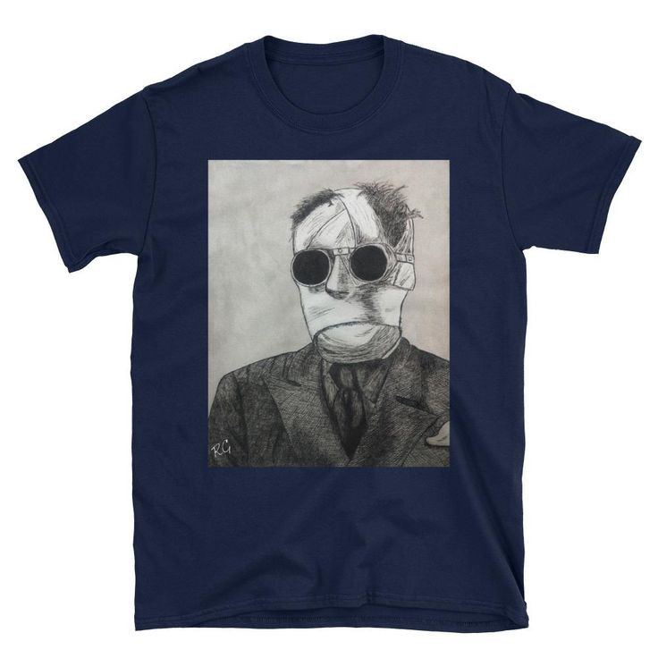 The Invisible Man Short-Sleeve Unisex T-Shirt