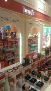 Benefit Cosmetics Counter in Glasgow