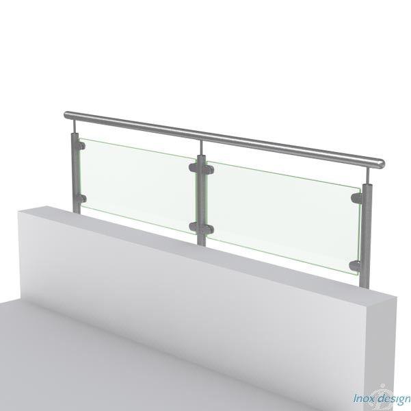 les 10 meilleures images du tableau poteaux complet pour garde corps inox sur pinterest mains. Black Bedroom Furniture Sets. Home Design Ideas