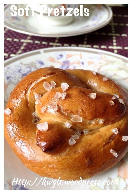 German Soft Pretzels (德国扭结软面包) #guaishushu #kenneth_goh   #soft_pretzels  #德国扭结面包
