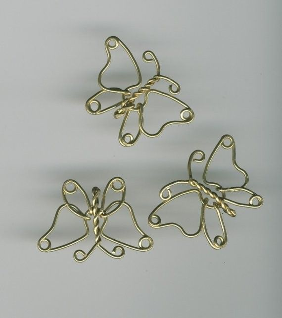 how to make butterfly wings out of wire