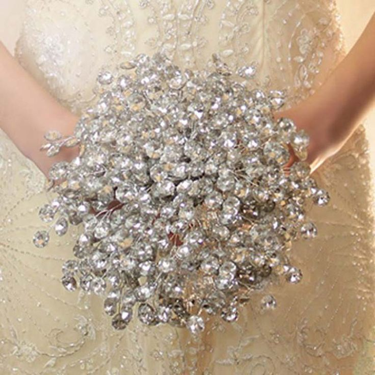 Hot Sale 2016 Elegant Customized Bridal YIYI Bouquet With Pearl Beaded Brooch Romantic Wedding Colorful Bride 's Bouquet WD003-in Wedding Bouquets from Weddings & Events on Aliexpress.com | Alibaba Group