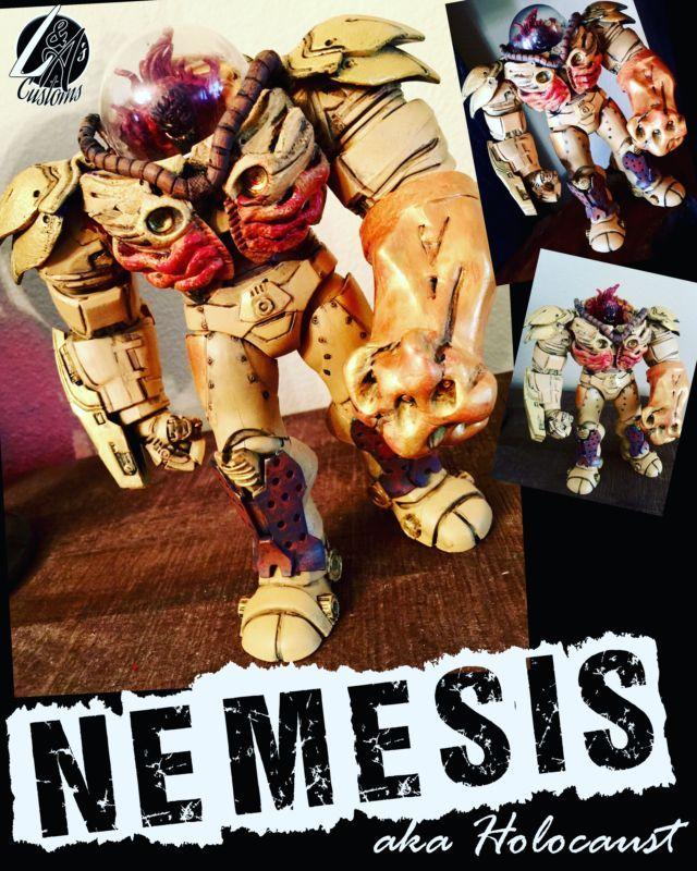 Nemesis aka Holocaust (Marvel Legends) Custom Action Figure