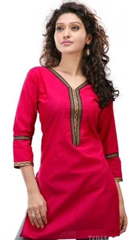 Kurta Neck Designs for Eid