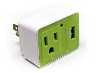 Satechi Compact USB Surge Protector.  This could be a good stocking stuffer.