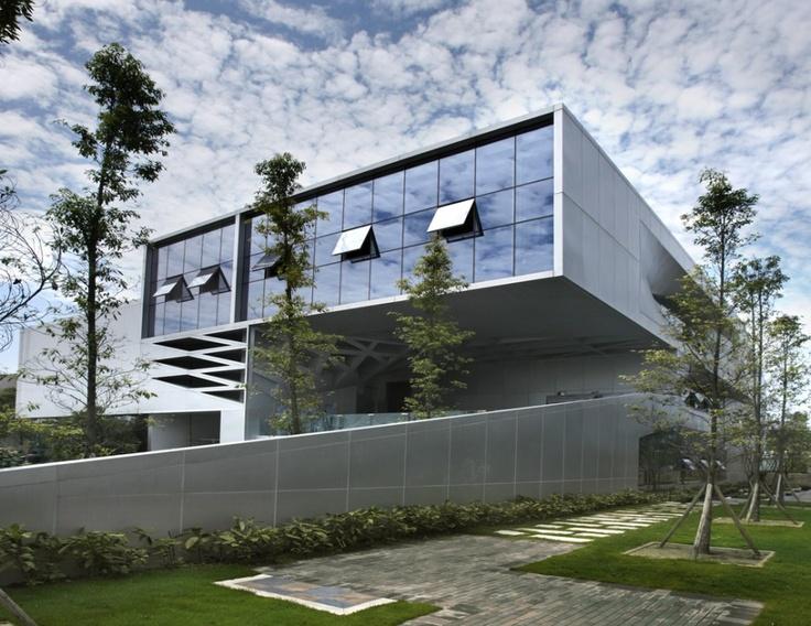 Modern Office Building Design Delectable Inspiration
