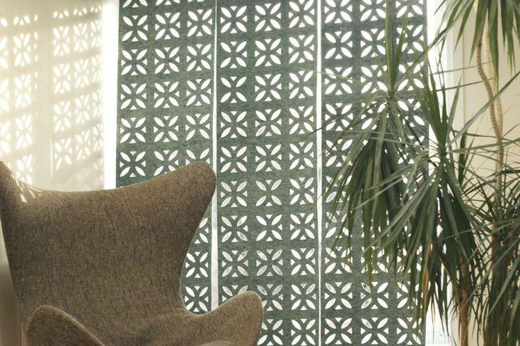 L'écodesign ne cesse d'apporter de nouveaux objets pour la maison. Les pare-soleil de feutre de Tangible Studio, une entreprise créative pilotée par la designer...