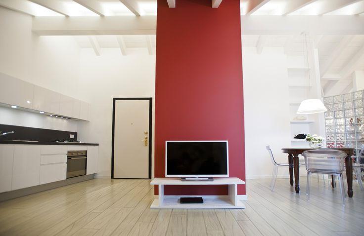 white wooden floor lived