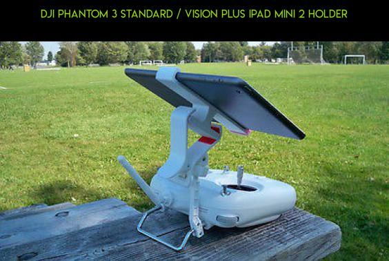 DJI Phantom 3 Standard / Vision Plus Ipad Mini 2 Holder #fpv #ipad #technology #products #tech #3 #camera #plans #standard #phantom #holder #drone #kit #parts #shopping #racing #dji #gadgets