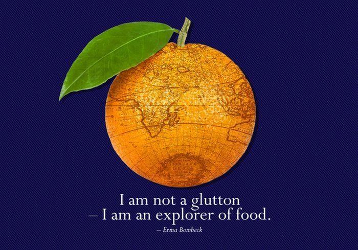 De leukste quotes over eten