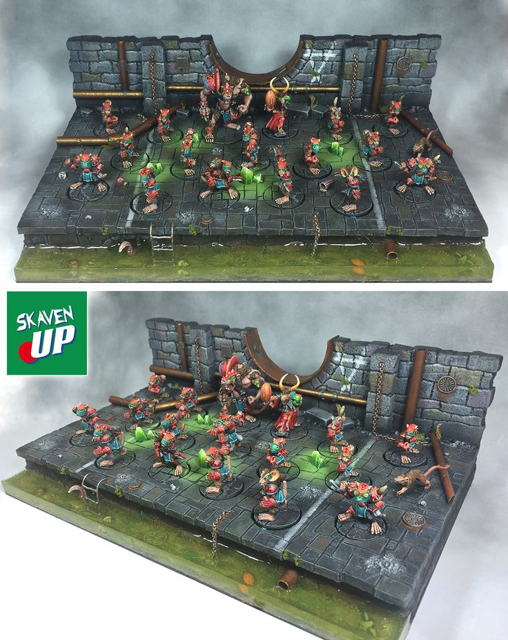 Skaven team for Blood Bowl