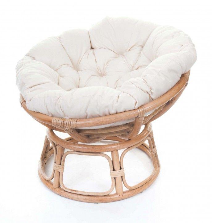 White Papasan Chair