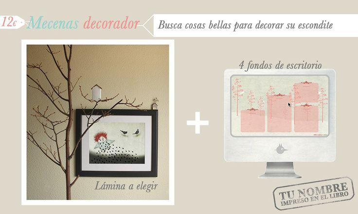 Recompensas para los mecenas decoradores de Dora. http://vkm.is/Dora