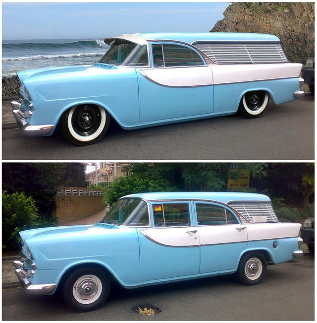 FB Holden Nomad and FB wagon .
