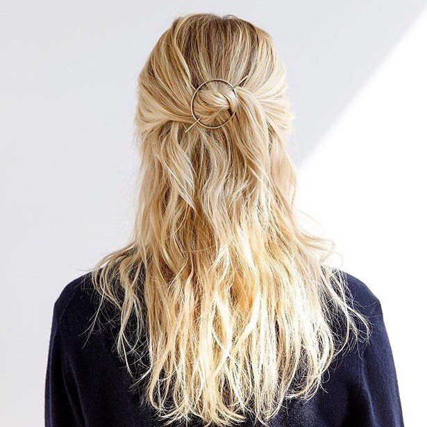 Orbital Hair Pin For Curly Thick Hair Favor Jewelry Long Hair Styles Hair Styles Thick Hair Styles