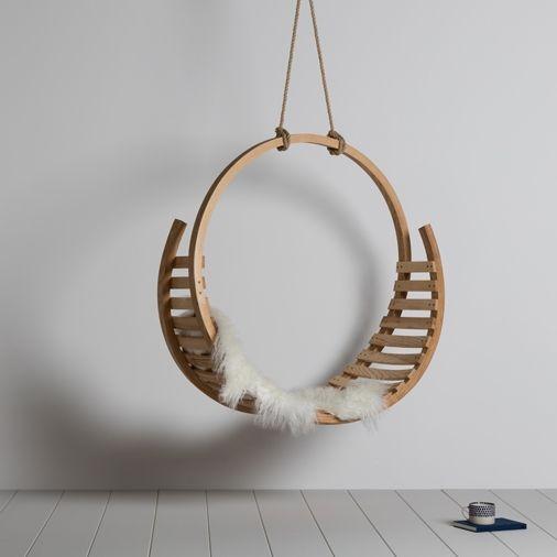 Amble Hanging Seat | Tom Raffield