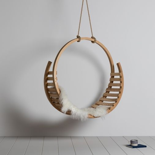Amble Hanging Seat | Tom Raffield
