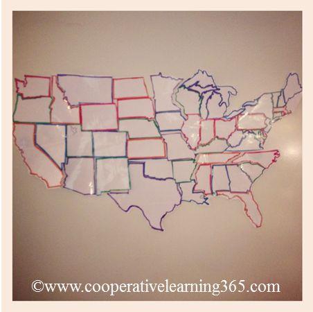 Classroom DIY: DIY Interactive Wall Map
