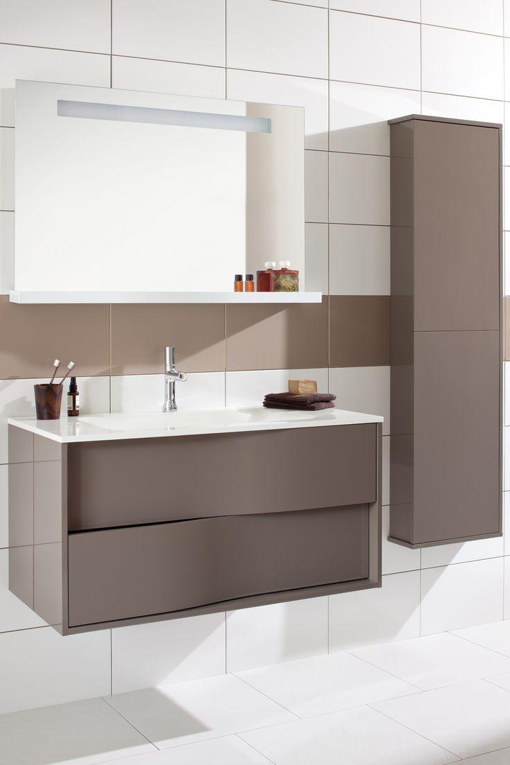 #marron #brown #salledebain #bathroom #mylodge #Sanijura  #meubles #meublessalledebain