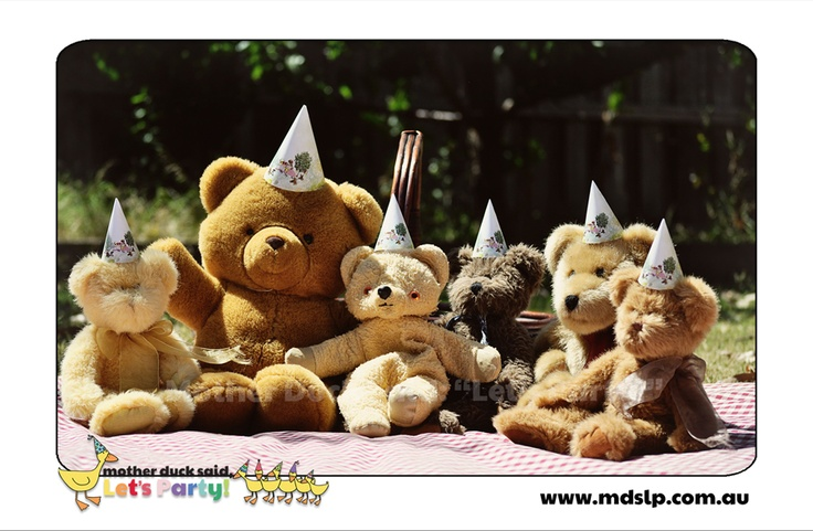 "Mother Duck Said: ""Lets Party!"": Teddy Bears Picnic Party"